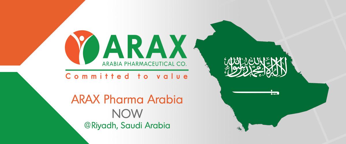 Arax Pharmaceuticals Arabia